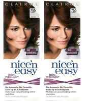 Clairol Nice'n'Easy Hair Colourant Lasting 755 Light Personal Care