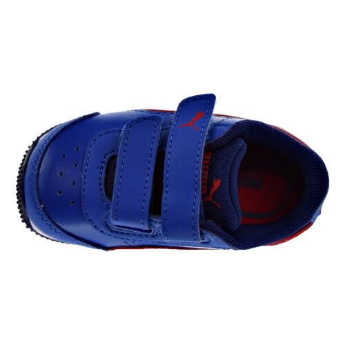 Puma Speed Lightup Power V Toddler Shoes Lapis Blue-Toreador 362696-06