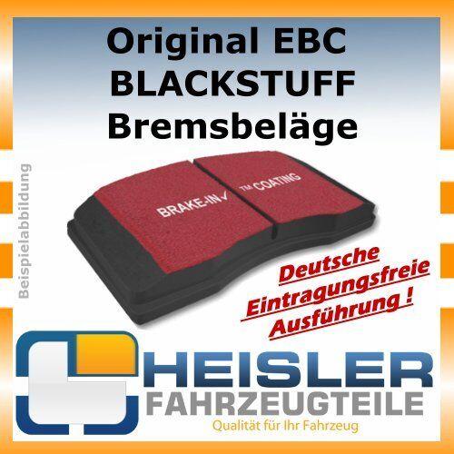 200 Coupe DP486 Vorne EBC Blackstuff Bremsbeläge für Audi 80 100