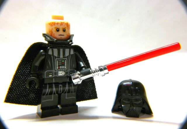 LEGO Star Wars Darth Vader MINIFIGURE from 75183, 2017 Sith figure with saber