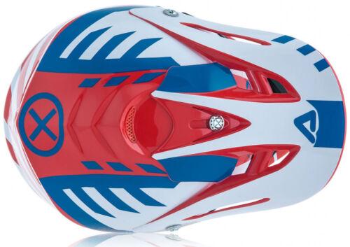 ACERBIS IMPACT 3.0 JUNIOR HELMET RED BLUE KIDS YOUTH CHEAP MOTOCROSS MX BOYS NEW