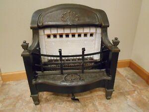 inserts Vintage ray-glo fireplace