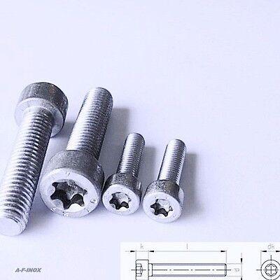 Zylinder-schrauben Din 14579 Tx Edelstahl Va Zylinderkopf Isr Cylindrical Screw Starker Widerstand Gegen Hitze Und Starkes Tragen