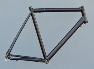 CHAKA Rennrad Rahmen Aluminium RH 60 cm in schwarz matt IS NR223
