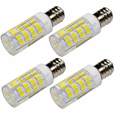 4 Pack E12 110v Led Bulb Cool White For Kichler 5907fst Light Bulb Replacement Ebay