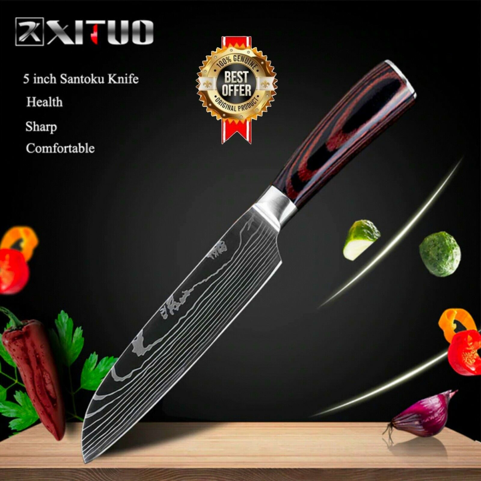 Model-4( 5in Santoku Knife )