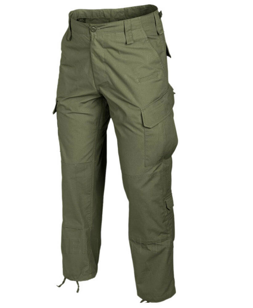 Tactical Operator MENS Combat Patrol Trouser Cargo Pants Helikon Olive Green CPU