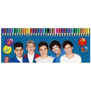 One-Direction-Season-13-50-Piece-Colouring-Pencils-Tin-Case-Gift