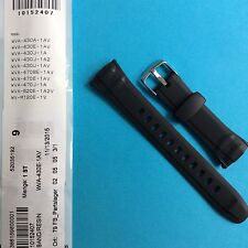 Casio Uhrband schwarz WVA-430, WVA-470, WVA-620, WV-M120E