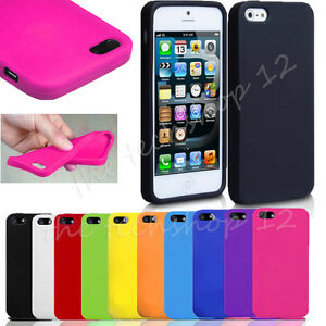 cover silicone iphone se