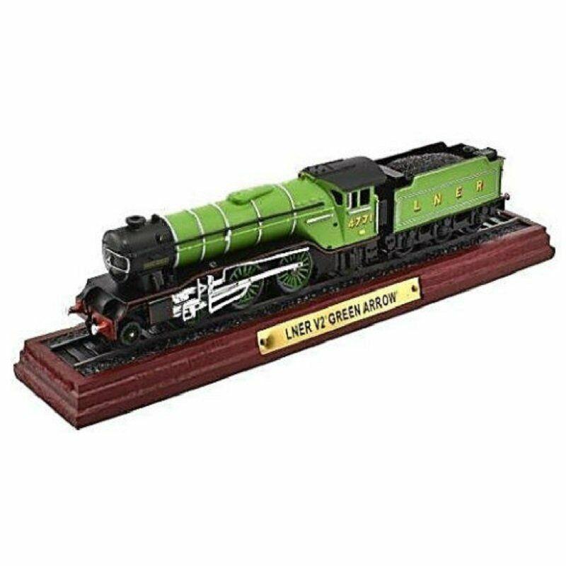 LNER V2 GREEN ARROW 1:100 Ferrocarril Locomotora Atlas Modelo estático