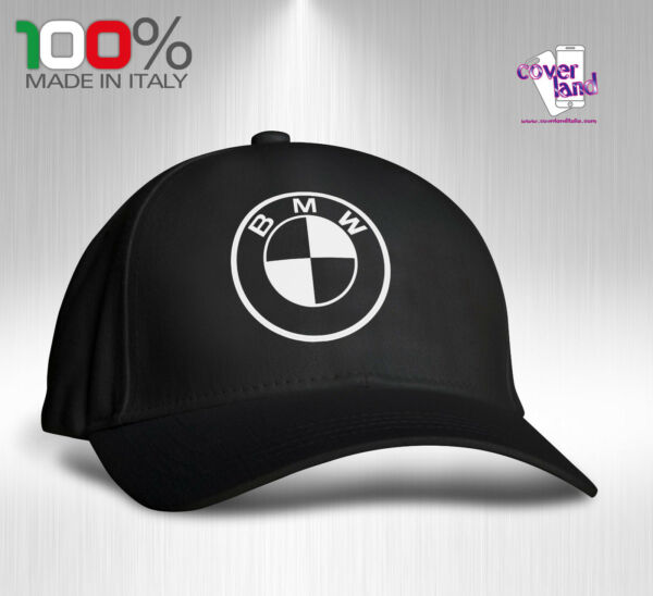 7ecf8c71882 Cappello Berretto Hat Cappellino Houston 5 pannelli NERO - BMW