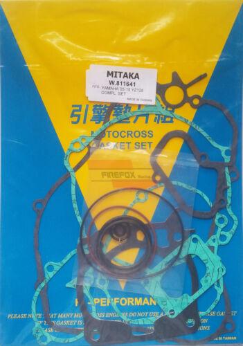 Kit Yamaha YZ125 YZ 125 2005-2018 Full Gasket Set