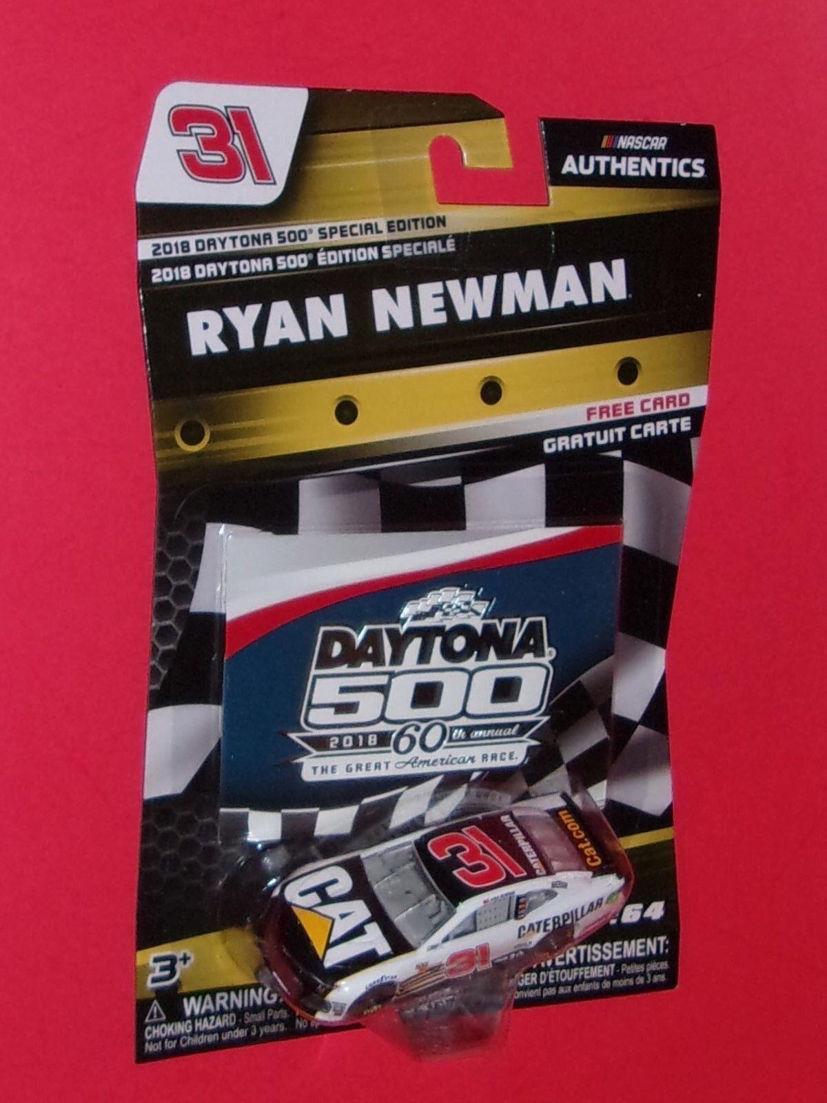 RYAN NEWMAN CATERPILLAR 1 64 Nascar Authentics 2018 DAYTONA 500 SPECIAL ED.