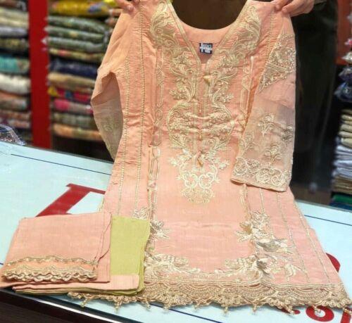 Asian//Indian//Pakistani Designer Readymade Anarkali//Salwar Kameez Suit S//M//L