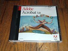 Adobe Acrobat 5.0 for Windows 98 / 2000 / Me / 95