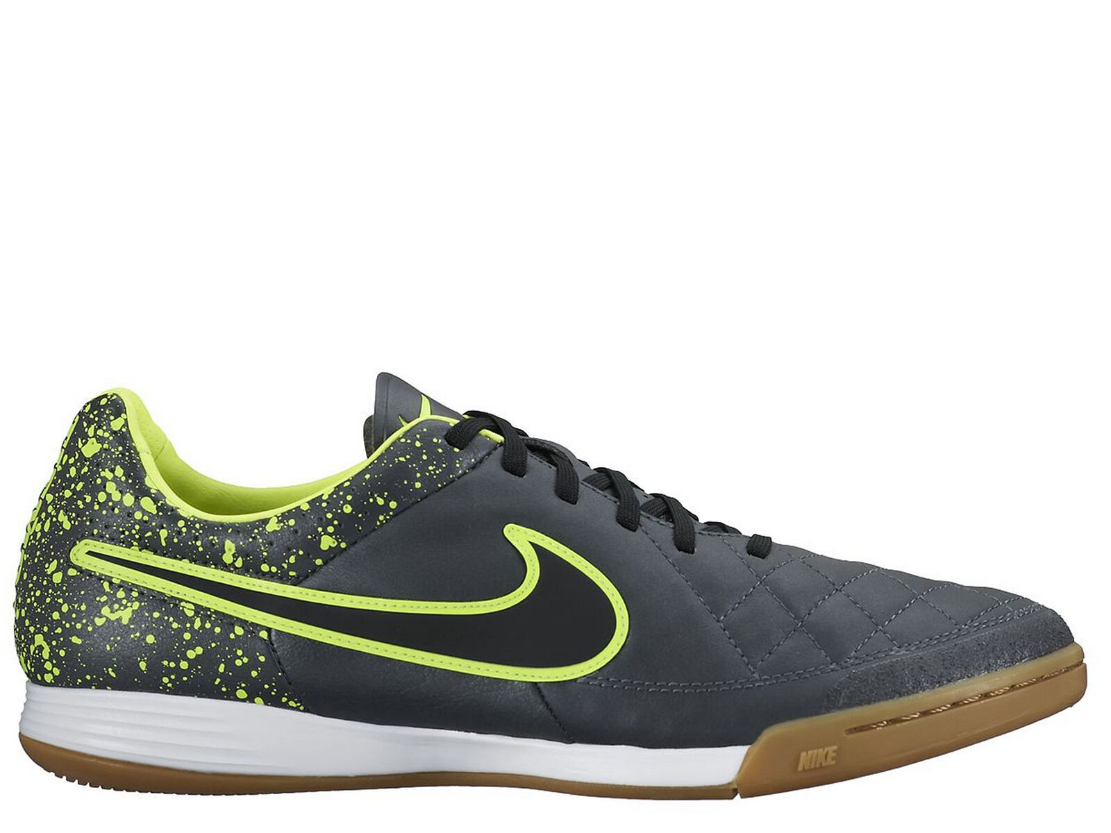 Brand New Nike Tiempo Legacy IC Men's Athletic Fashion Sneakers [631522 007]