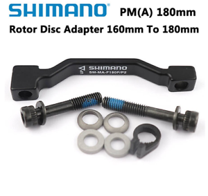 180 mm Shimano SM-MA-F180P//P2 Front Mount Adaptateur Front POST to Post