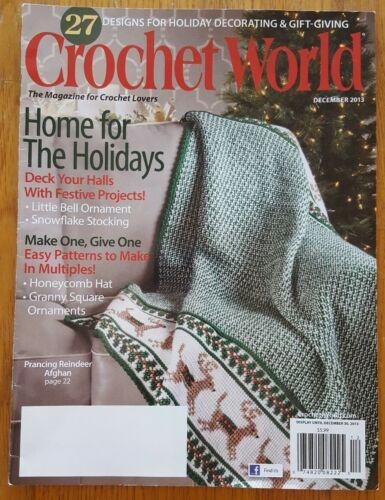 Crochet World 2013 de diciembre de 27 diseños para vacaciones regalos de decoración /&