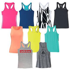 adidas-Performance-camiseta-de-tirantes-DamenCamisa-correr-Camiseta-deportiva
