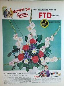 VINTAGE SIGN Flower 3 14 x 14