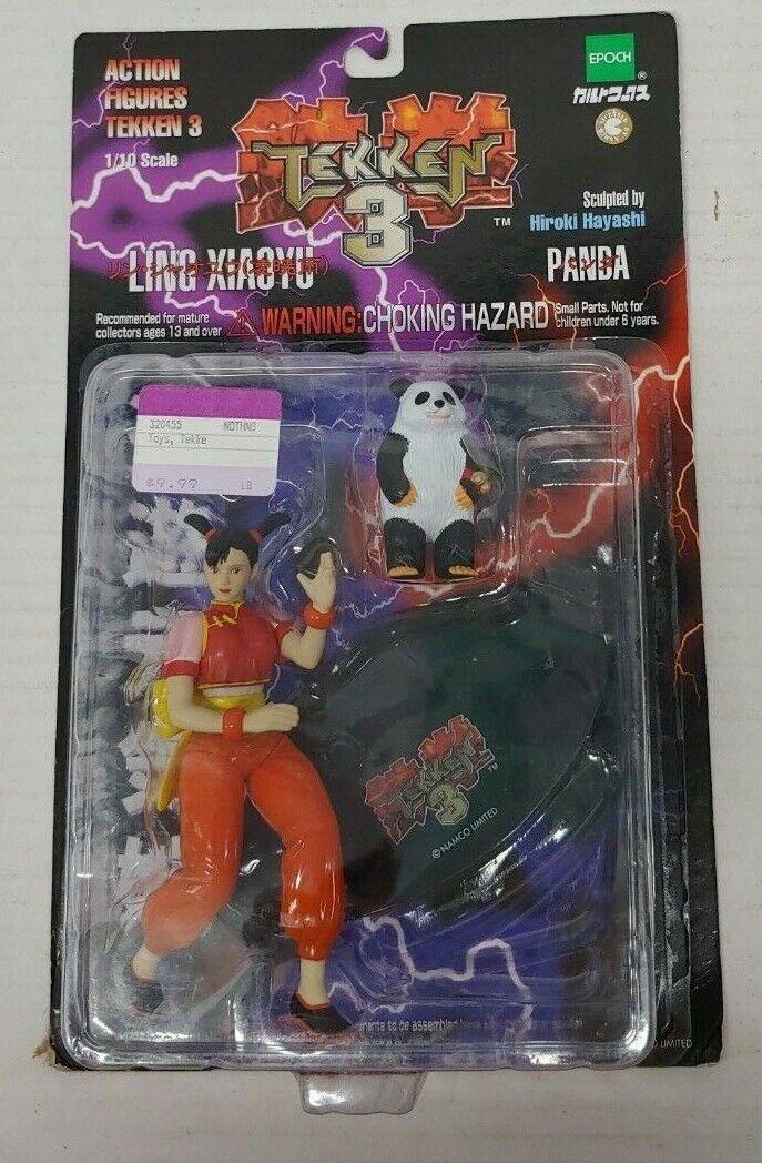Tekken 3 Ling Xiaoyu Action Figure With Panda For Sale Online Ebay