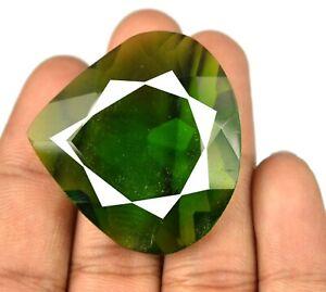 39 x 37 mm Pear Olive Green Peridot Brazilian Gemstone 103.10 Ct Certified Q8752