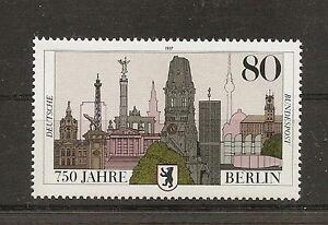 RFA-1987-ANNIVERSAIRE-DE-LA-VILLE-DE-BERLIN-YT-1138-TP-NEUF