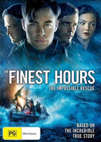 1 of 1 - The Finest Hours (Dvd) Chris Pine, Casey Affleck, Ben Foster Action, Adventure