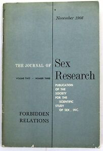 Buy journal of sex research 1966