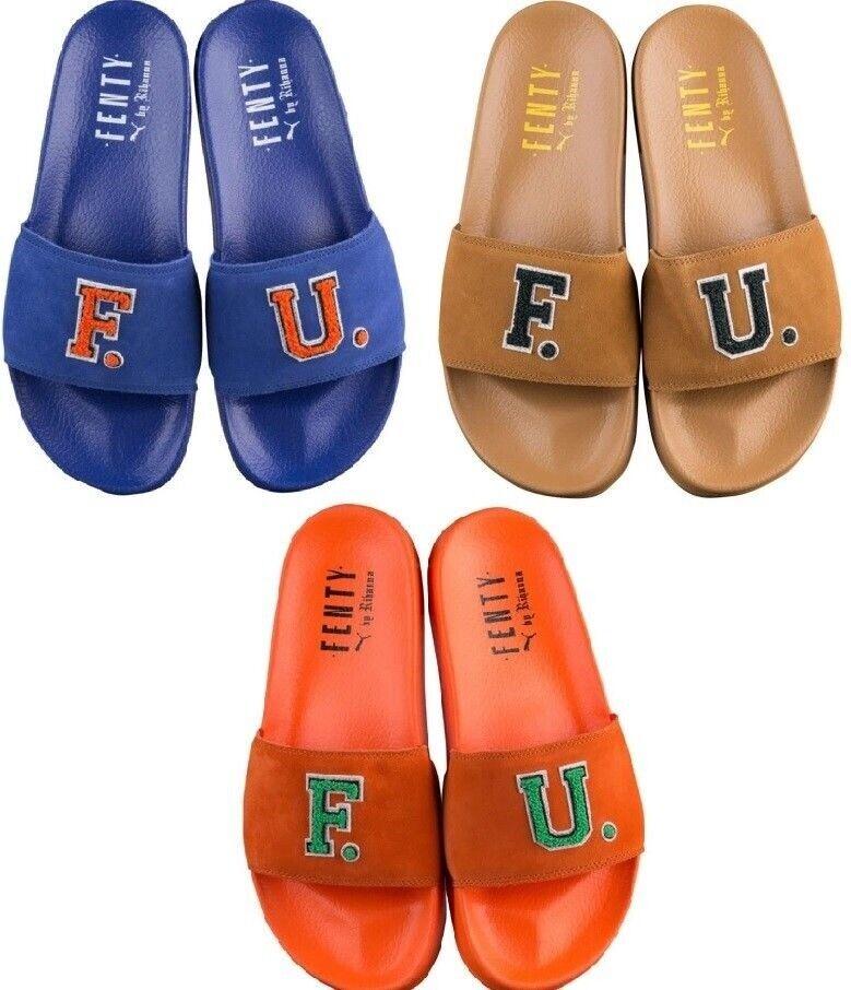 Puma x Leadcat Fenty Fu by Rihanna 367087 03 Women Sandals Suede Bath Slippers