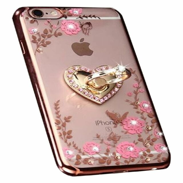 Frequently bought together. Floral Crystal Tpu Ring Stand Slim Case Cover  For Apple Iphone 7 Plus Women 7e37109cf