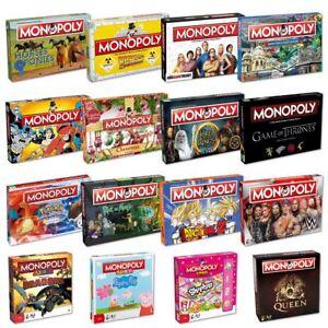 Juegos De Mesa Monopolio De Winning Moves Gama Mas Grande Nuevo Para