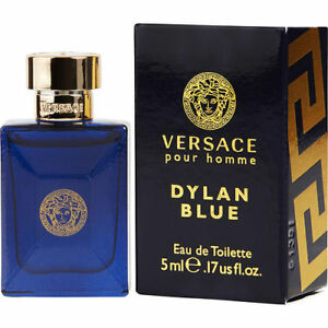 236f32dd5d2 Versace Pour Homme Dylan Blue Eau De Toilette 5ml Miniature for Men for  sale online | eBay