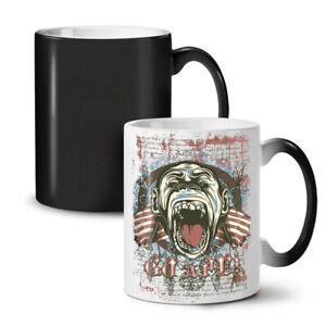 Ape Monkey Cool NEW Colour Changing Tea Coffee Mug 11 oz | Wellcoda