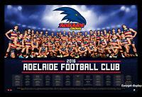 2016 Adelaide Crows Football Club Team Afl 2016 Season Calendar Poster Framed