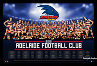 2016 Adelaide Crows Football Club Team Afl 2016 Season Calendar Poster Framed