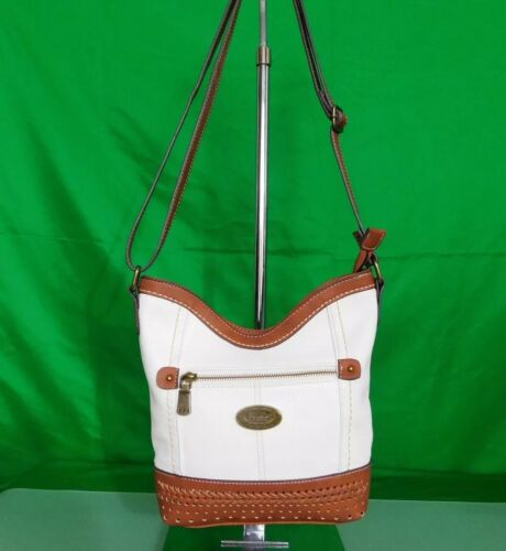 cBorn Schoudertas Portemonnee Concept White Brown B Faux Leather o hstQrd