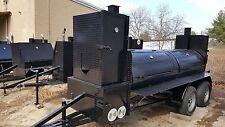 Big Smokey Bbq Smoker Grill Trailer Business Catering Food Truck Restaurant