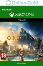 Xbox One Assassin's Creed: Origins Clé - Xbox One Jeu - Microsoft Code - EU/FR
