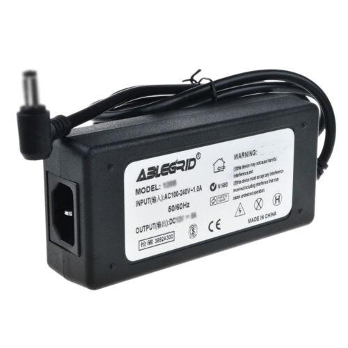 AC Adapter Charger for Data Robotics Drobo DRO4D-D DR04D-D Power Cord Mains