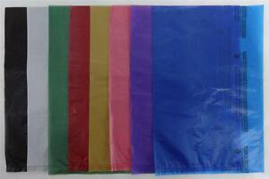 8-5-034-x-11-034-High-Density-Bags-Plastic-Merchandise-Variety-of-Colors-amp-Quantities