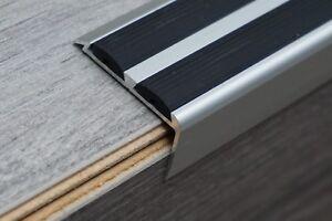 Alu Anti Rutsch Treppenkantenprofil Treppenwinkel Bodenleiste