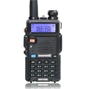 Baofeng Uv 5r Vhf Uhf Dual Band Two Way Ham Radio Transceiver Walkie Talkie Us Ebay