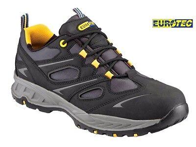 Nuevo Para hombres S3 Ultra Ligero Puntera De Acero Seguridad Trabajo Botas Zapatos entrenador 6-12