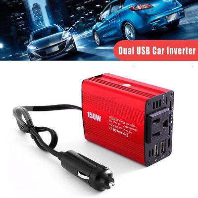 4000w Power Inverter Car SUV Converter Charger DC 12V To 110V AC USB Kit