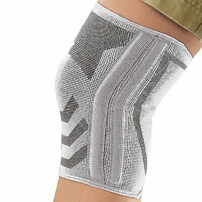 Ace Knitted Knee Brace With Side Stabilizers Large For