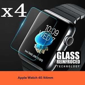 Apple-Watch-Series-4-3-2-1-40MM-44MM-9H-Tempered-Glass-Screen-Protector-Film-4PK