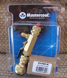 Mastercool 91490 R12 Standard Valve Core Remover and Installer