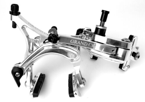 Silver Velo Orange Grand Cru Long Reach Dual Pivot Caliper Brakes pair